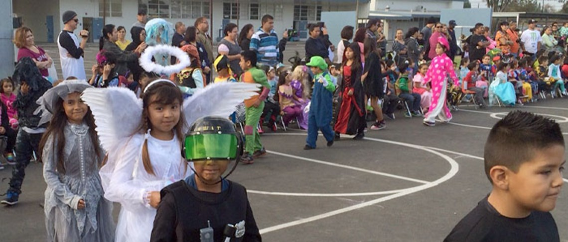 Isn't our Halloween parade filled with adorable costumes?