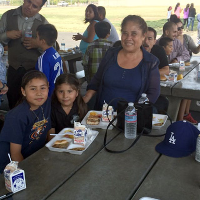 Family barbecues foster a strong sense of school community!