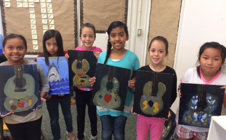 Newhope Students Enjoy Summer Art Class - article thumnail image