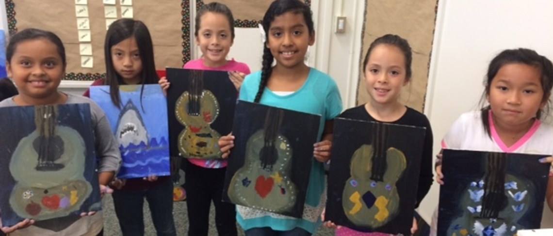 Newhope students enjoy opportunities to use their artistic talents!